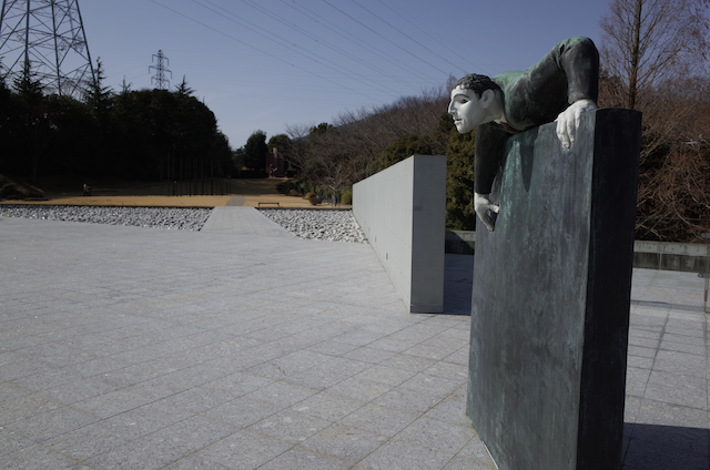 ヴァンジ彫刻庭園美術館 上部庭園