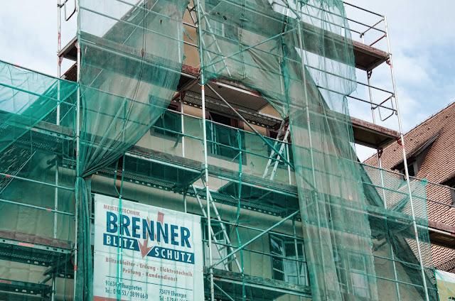 Baustelle, Weinmarkt 5, 91550 Dinkelsbühl, 26.09.2014