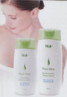 Bioglo Pure Aloe Revitalising Body Wash
