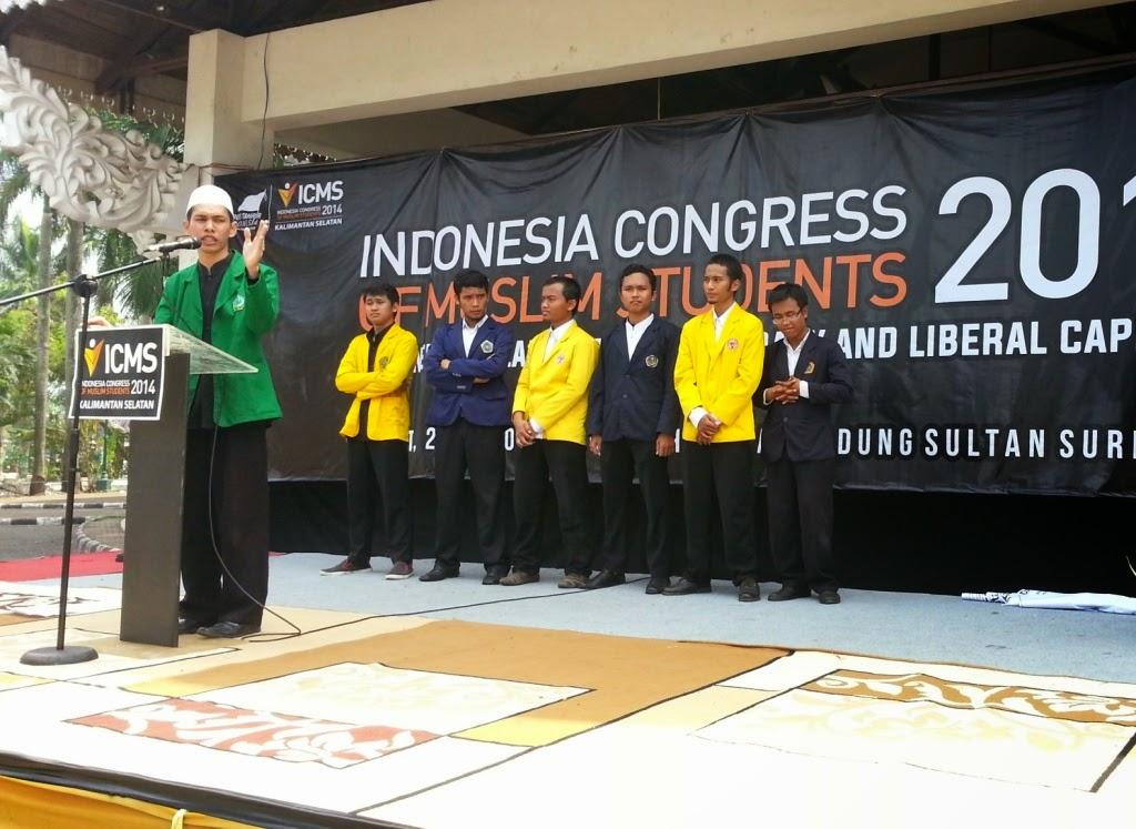 ICMS 2014 Kalsel: Mahasiswa Tuntut Rezim Jokowi Terapkan Khilafah