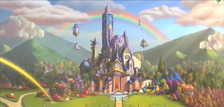 The Magic Academy from the Filly Funtasia trailer
