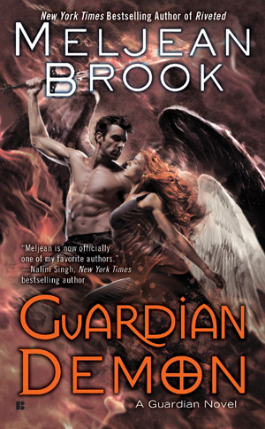 Cover Love: Guardian Demon by Meljean Brook