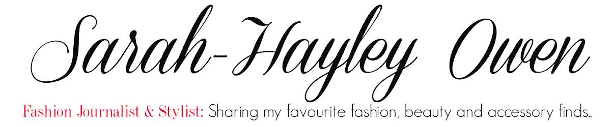 SARAH-HAYLEY OWEN