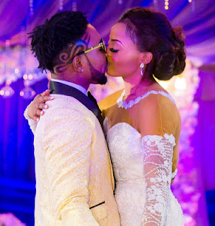 Oritsefemi and Nabila Fash kissing