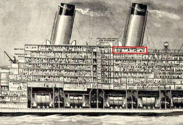 Mientras se hundia el gimnasio del titanic seguia for Titanic epave interieur