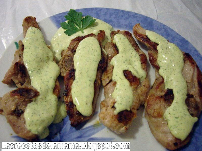 Las recetas de la mam receta de chuletas de pavo con - Superchef cf100 ...