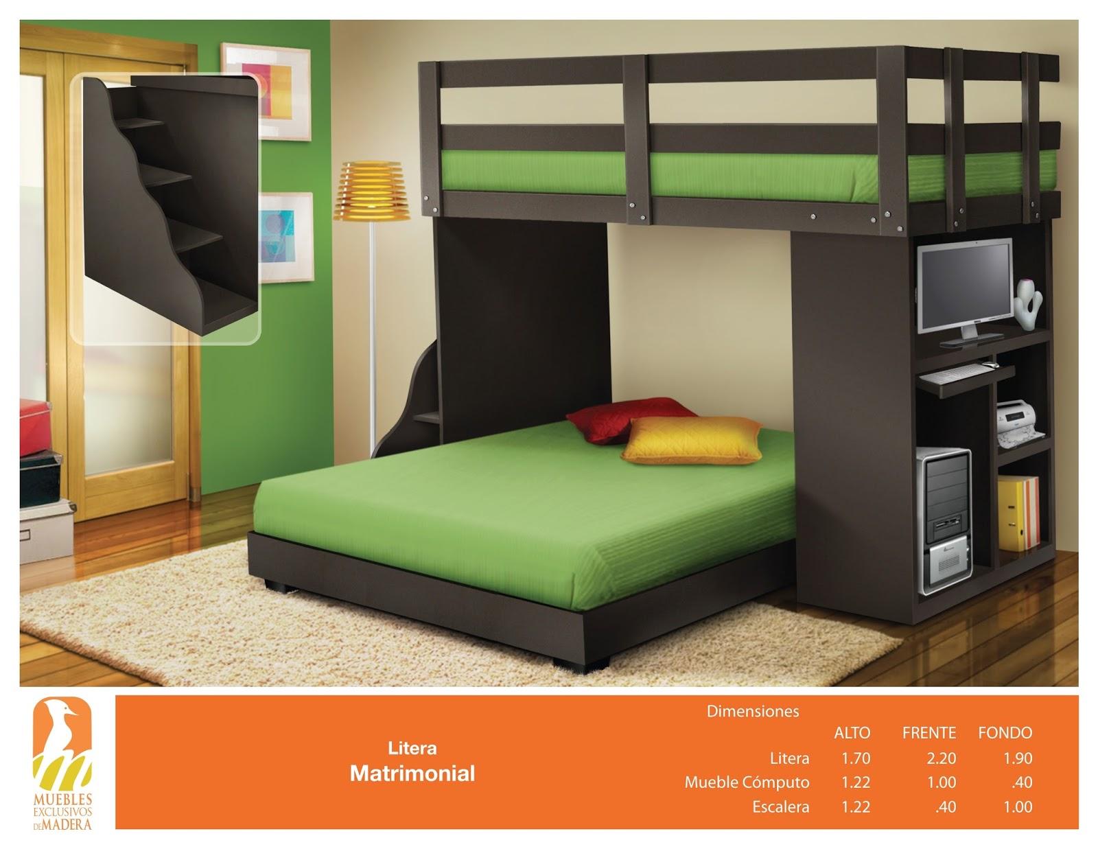 Muebleria zambrano muebles minimalista guadalajara camas - Camas literas modernas ...
