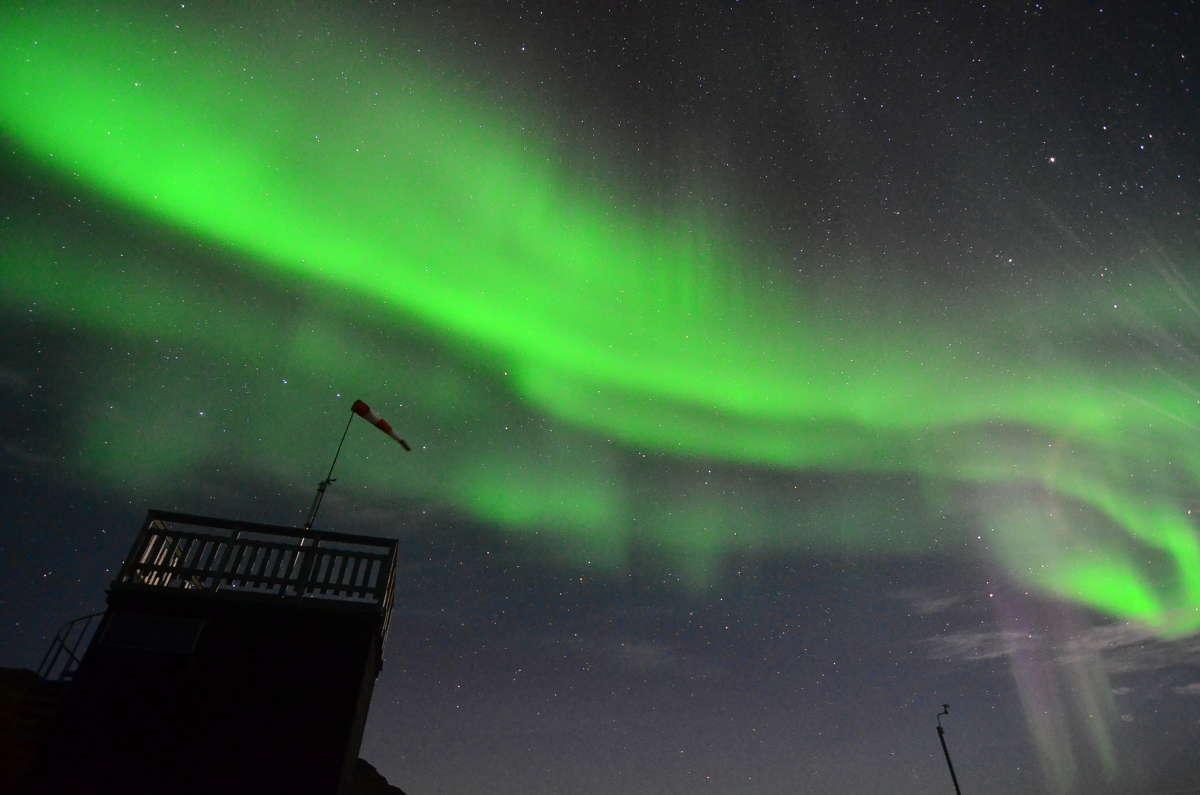 Solar Storm Aurora Borealis wallpaper 1080p