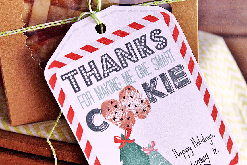 One Smart Cookie Teacher's Gift Tags
