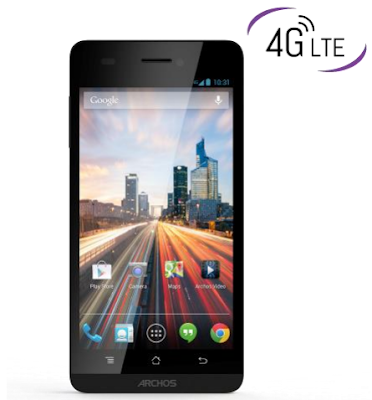 Archos New 45 and 50 Helium 4G Contract-Free Smartphones