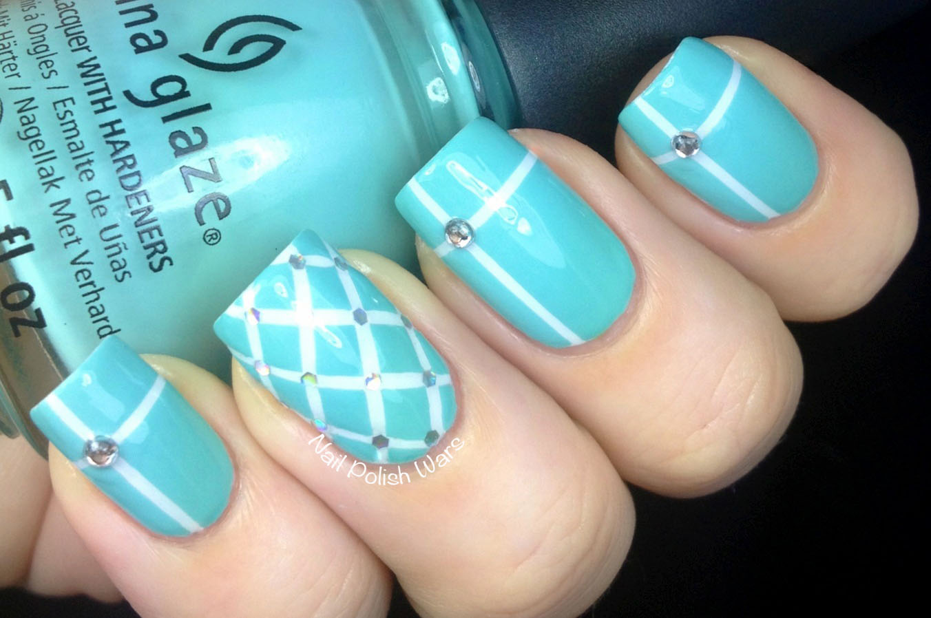 Nail Polish Wars: Tiffany & Co. Inspired