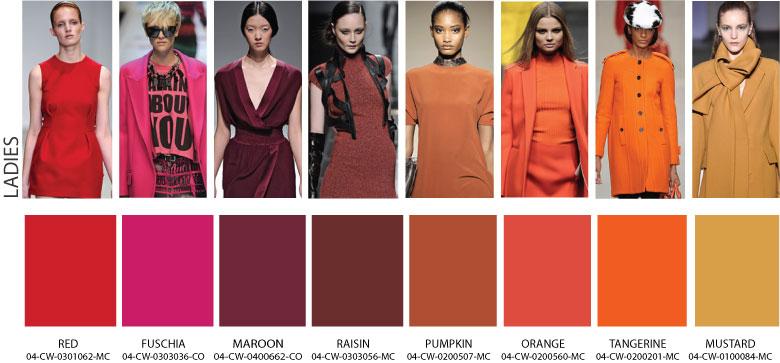 Какой цвет модный в 2017-2018