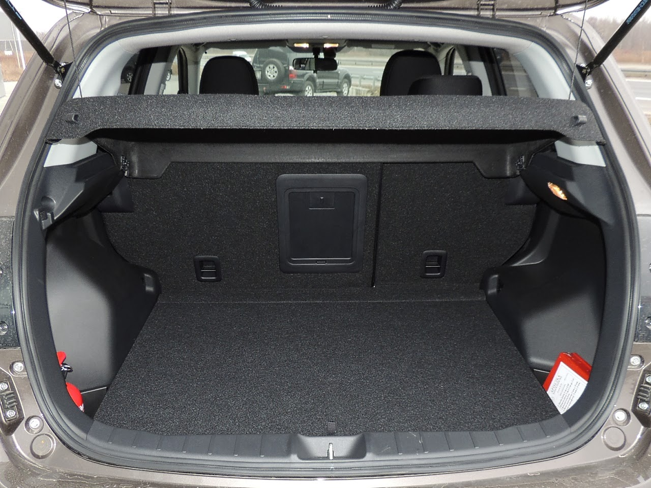 Mitsubishi ASX - bagażnik