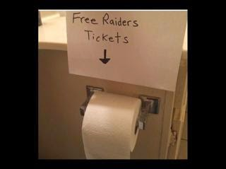 free raiders tickets