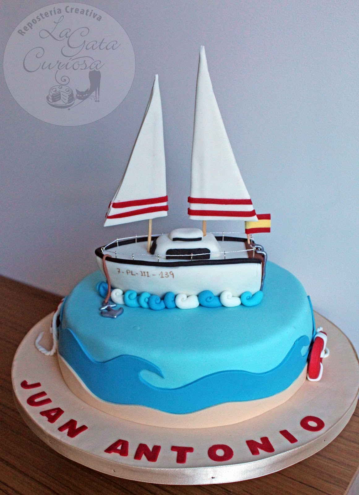 Boat Cake Topper Tutorial