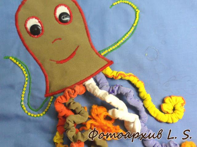 осьминог для детей
