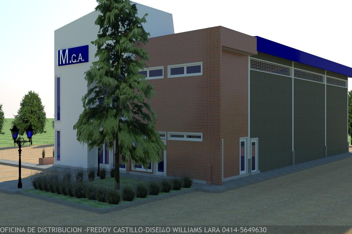 Dise o de galpones industriales y de oficinas cocinas for Diseno oficinas industriales