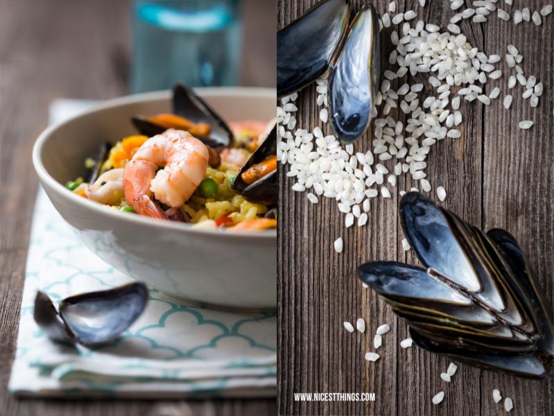 Paella Rezept mit Miesmuscheln