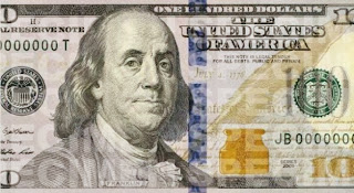 New $100 bill picture
