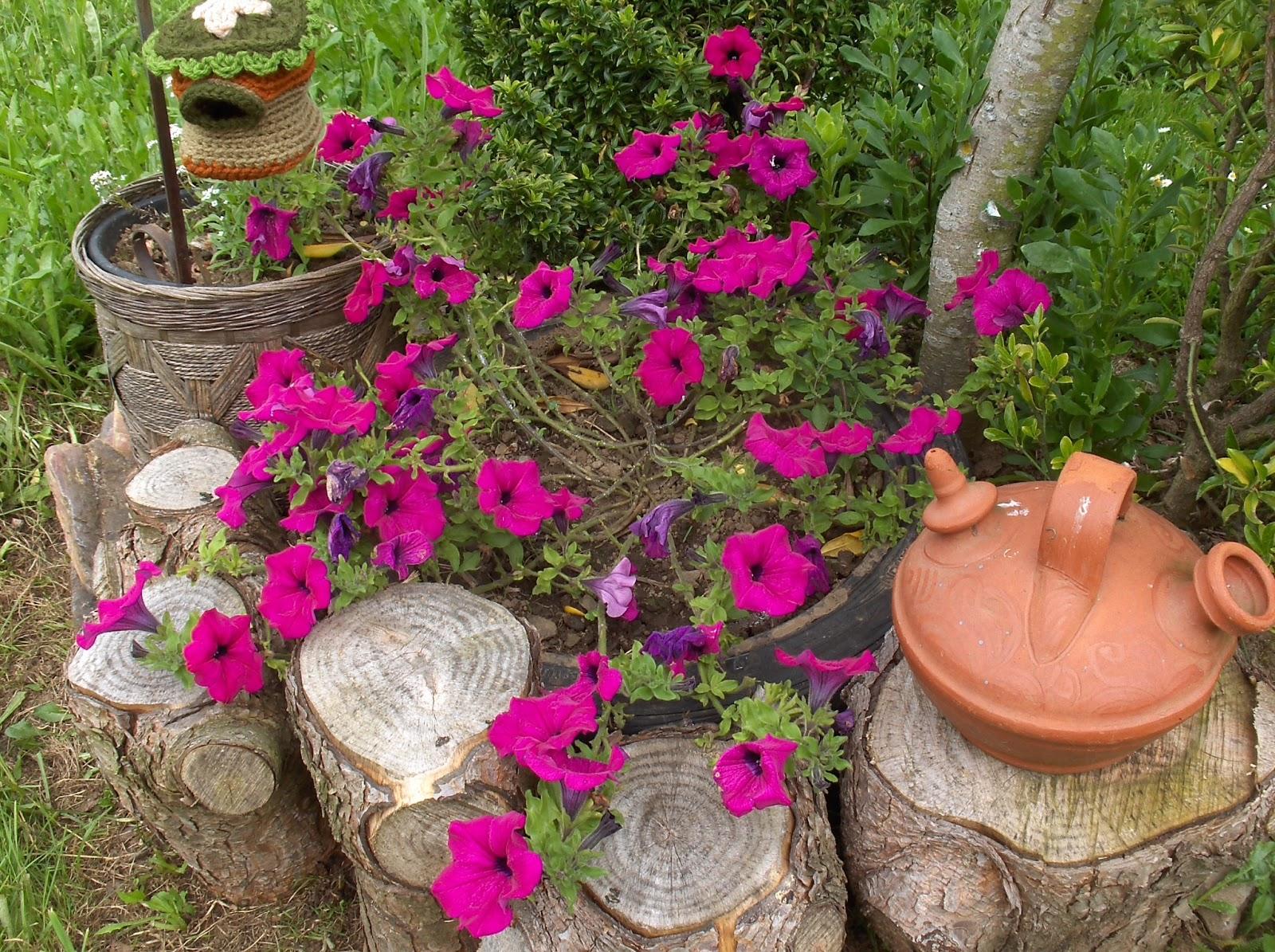 Aprendiz casita de p jaros decorativa a ganchillo para - Casitas en macetas ...
