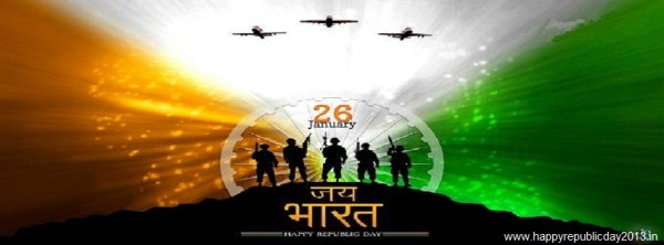 Facebok Cover for Happy Republic Day