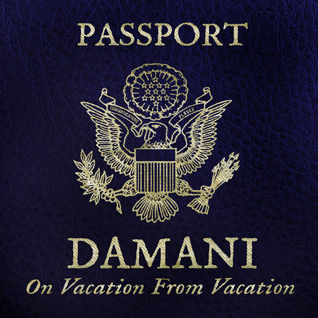 damani on vacation from vacation front cover