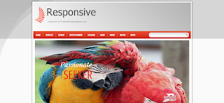 Responsive Blogger Template is a 2 Column Responsive Blogger Template
