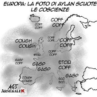 migranti, europa, aylan, bodrum, satira