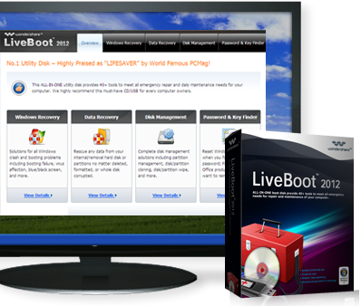Free Download Wondershare LiveBoot 2012
