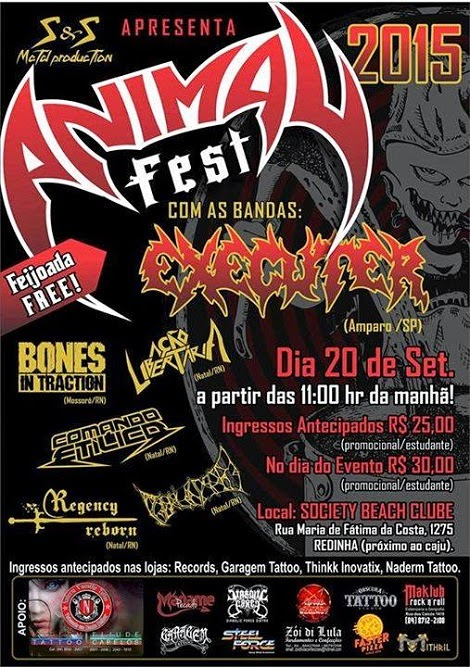 20-09-2015 - ANIMAL FEST - Natal - RN