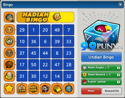 Event Bingo Lost Saga Indonesia Terbaru 2015