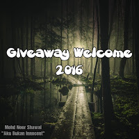 Giveaway Welcome 2016 by Aku Bukan Innocent