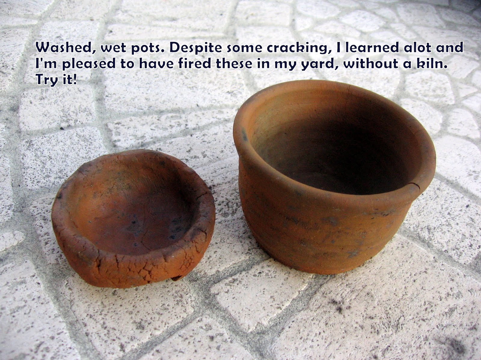 Fire Clay Pottery : Sheaclay pottery hand crafted by tracy shea primitive