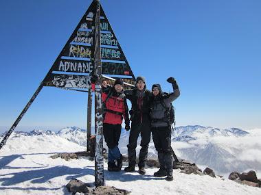 Cima de Jebel Toubkal (4.167m). Atlas 2011