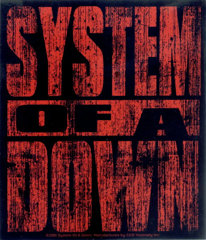 System Of A Down Byob Album Cover (system of a down). Toxicity System Of A Down Video