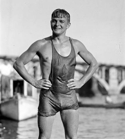 Sport: Vintage Swimmers Bulge