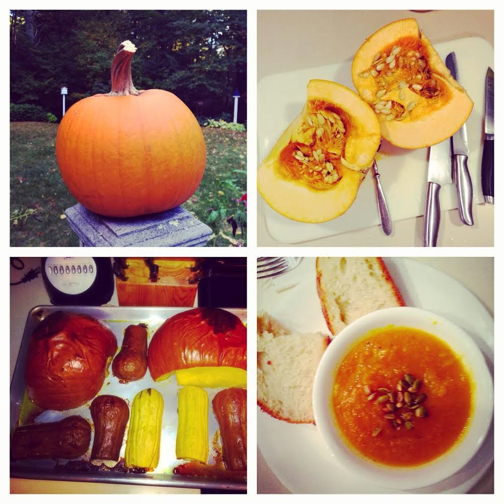Pumpkin and squash soup recipe