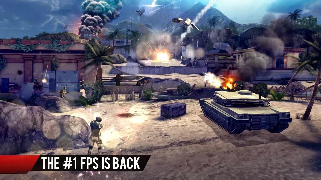 Screenshot Modern Combat 4: Zero Hour
