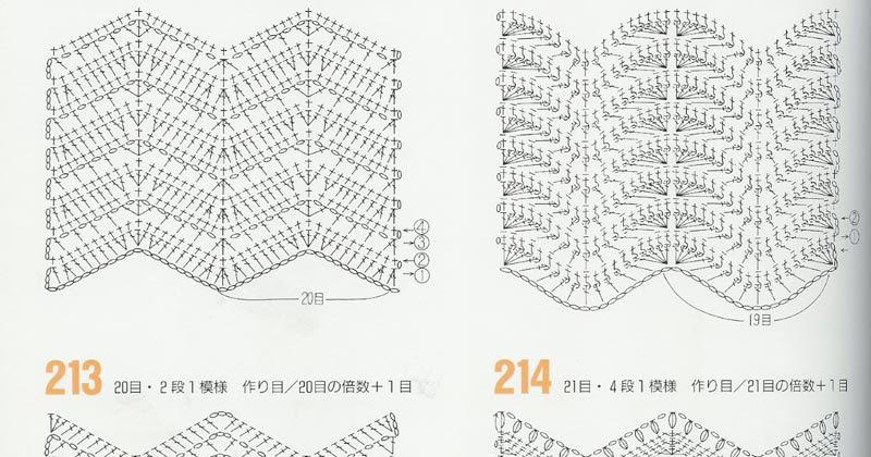 Perfecto Chevron Zig Zag Patrón De Crochet Motivo - Ideas de ...