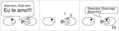 Balls - Música (tirinha)