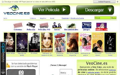 trailers ver estrenos entre otras ver página web veo cine
