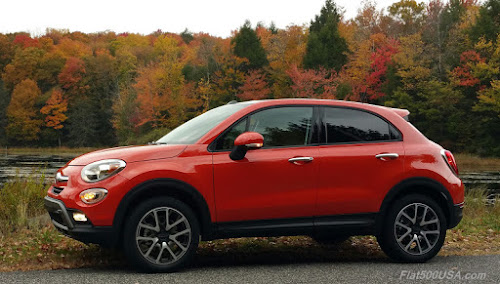 Fiat 500X Trekking Plus Autumn Colors