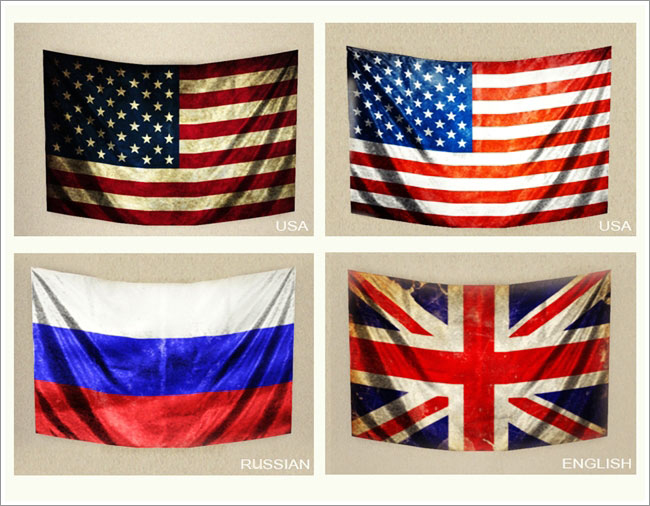 My Sims 3 Blog Flags On The Wall By Severinka
