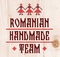 Fac parte din echipa Romanian Handmade Team