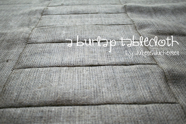 burlap tablecloth BurlapFabric.com