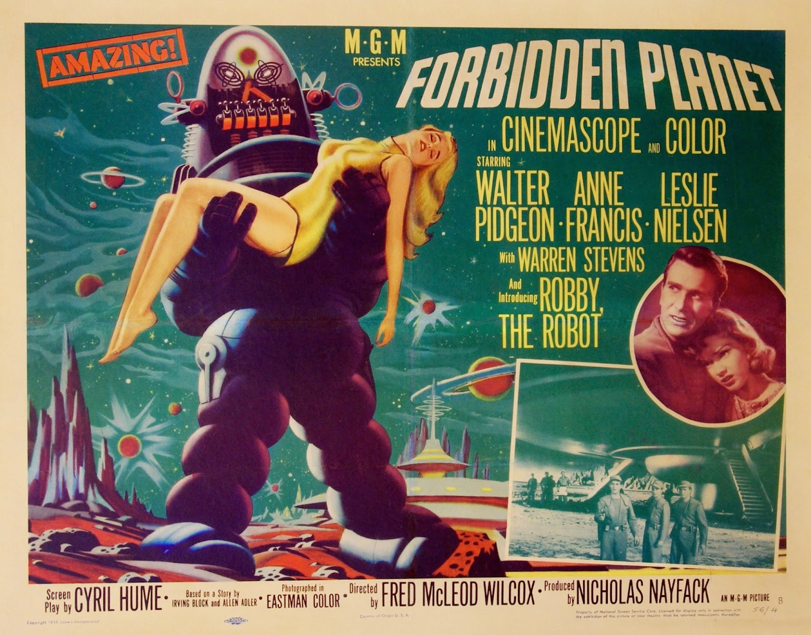 How Robby The Robot From Forbidden Planet Influenced