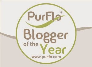If you enjoy my blog, please consider clicking here to vote for me as Purflo's Blogger Of The Year!