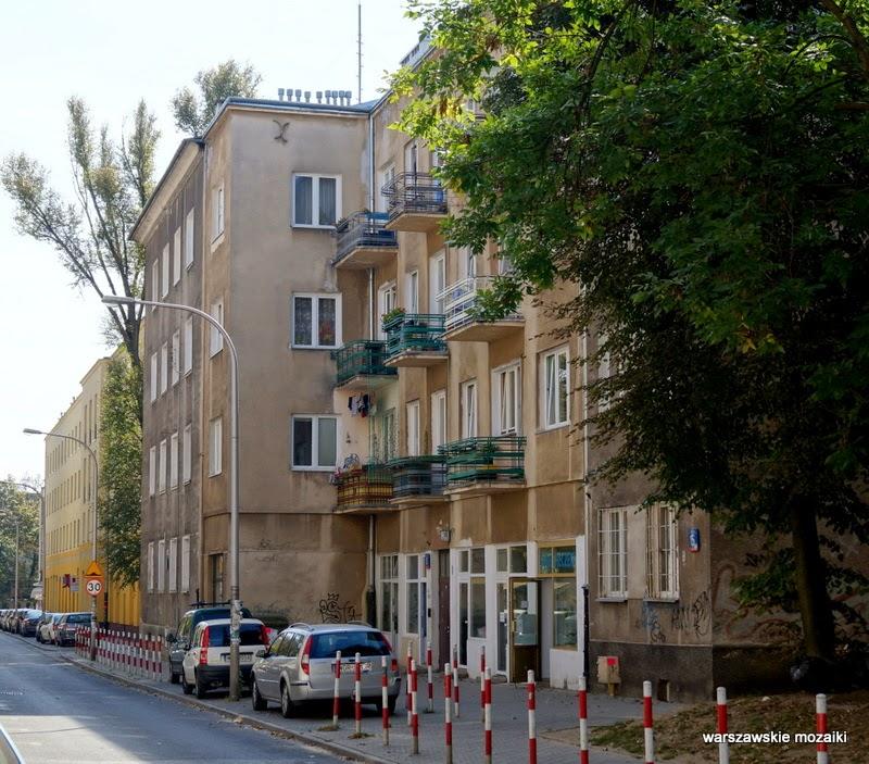 Warszawa Wola kamienica studnia zabytek