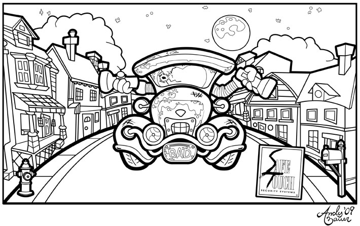 ganondorf coloring pages - photo#27