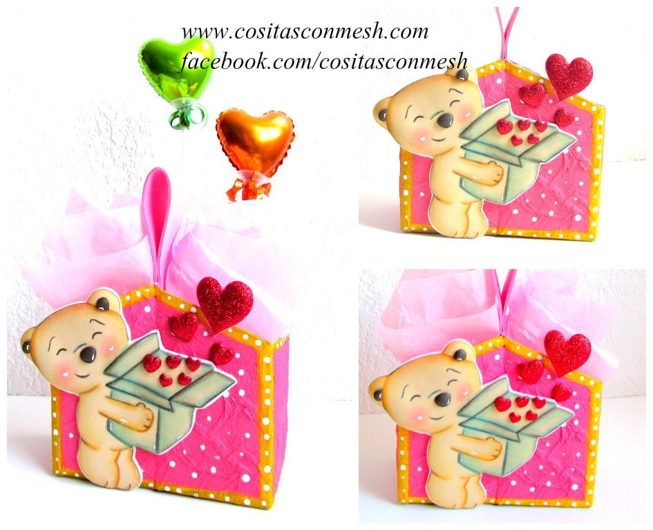 Cajas de regalo para el 14 de febrero manualidades diy - Cajas para manualidades ...